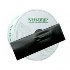 Капельная лента, 10см., 1,6л/час, эмиттерная, Neo-Drip, 6мил