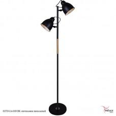 01718-2.6-01B BK  светильник напольный