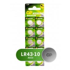 Батарейка GP AG12/LR43 GP186