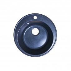 Мойка Edeiweiss каменная D401/475 (0,9/180) черная