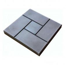 Тротуарная плитка (ГОСТ 17608-91) калифорния серая 300*300*30 мм