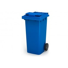 Бак для мусора на 240 литров на колесах Синий