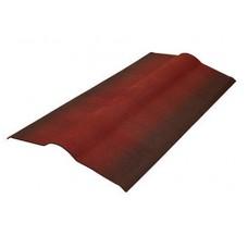 КРОВЕЛЬНЫЙ КОНЕК ОНДУЛИН ЧЕРЕПИЦА красный, коричневый