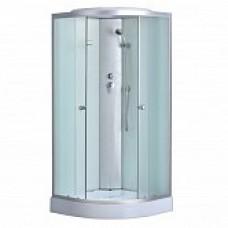 Душевая кабина PROFLINE 8401 А (80x80) глубокий поддон, матовое стекло