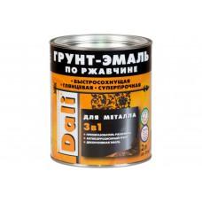 Грунт-эмаль по ржавчине 3 в 1 коричневая ф. 3 л.