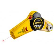 STAYER Drill Assistant уровень с приспособлением для сверления, 7м,точн.+/-1,5 мм/м