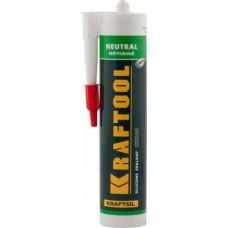 Герметик KRAFTOOL белый, 300мл 41257-0