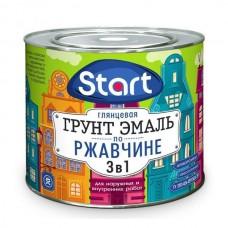"""Грунт-эмаль по ржавчине 3в1 """"Старт"""" белая, 0,9"""