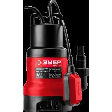 Насос дренажный ЗУБР НПГ- М1-900 для грязной воды
