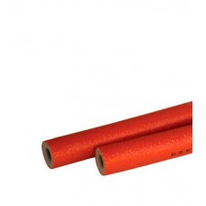Теплоизоляция d=18х4мм для труб 16мм (бухта - 11п.м.) красная