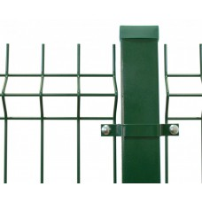 Столб 60*40*2 1500 (RAL6005) ОЦ с фланцем