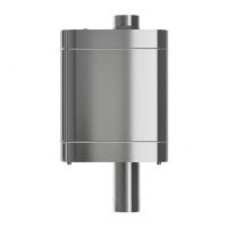 Бак на трубе D115 нерж.0,8мм/нерж.0,5мм, 50 л.