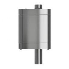 Бак на трубе D115 нерж.0,8мм/нерж.0,5мм, 70 л.
