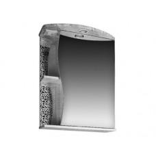 103 Шкаф зерк. Фламенко 553 со светильником розы белые
